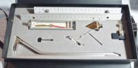 ★プリズム5型 アリダードセット 22cm 平板測量機用/中古
