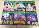 ディズニー DVD 未開封 新品 6枚セット ピノキオ バンビ アふしぎの国のアリス ピーターパン ダンボ ファンタジア