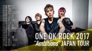 "ONE OK ROCK 2017 ""Ambitions"" JAPAN TOUR 幕張 4/8(土) 1-2枚"