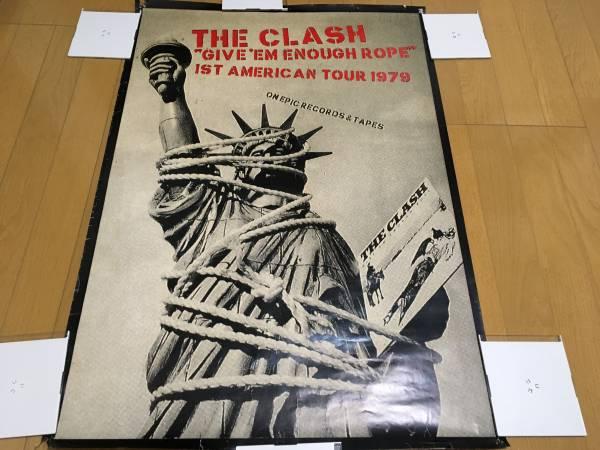 THE CLASH 1st AMERICAN TOUR 1979 ポスター パンク PUNK