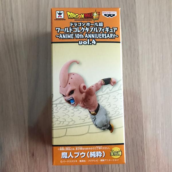 ドラゴンボール超 ワールドコレクタブルフィギュア ANIME 30th ANNIVERSARY vol.4 【魔人ブウ(純粋)】新品未開封 レア