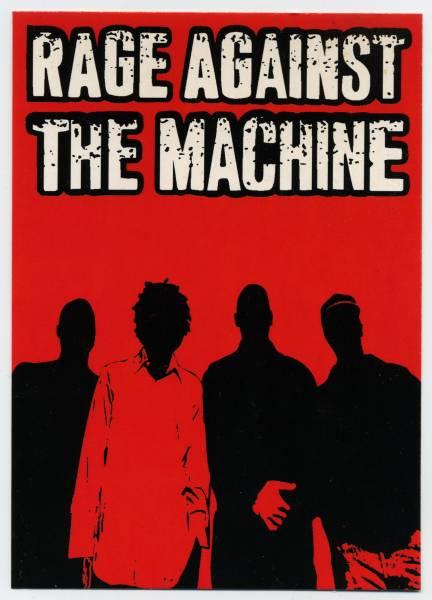 ★当時物 Rage Against The Machine レイジ・アゲインスト・ザ・マシーン ポストカ-ド ★デッ トストック!!
