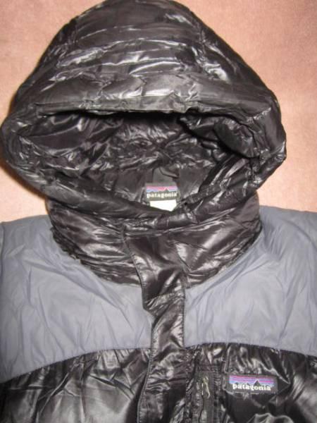 超レア!激安 即決! patagonia パタゴニア ダウンジャケット 黒/灰 XLサイズ_画像2