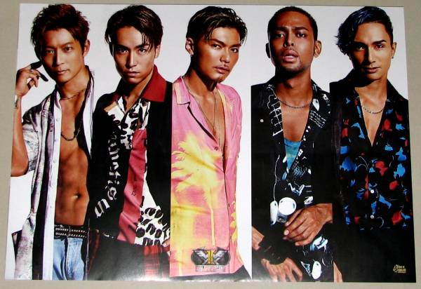 3B EXILE THE SECOND/HiGH&LOW THE LIVE A3ポスター