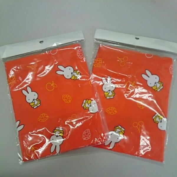 ミッフィー正規品お弁当巾着2個 グッズの画像