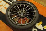 未使用品!!ウェッズスポーツ86BRZ用100/5H SA-15R 4本セット バリ山中古タイヤセット♪