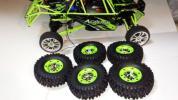 中国WLtoys製1/12「クローラー調4WD用タイヤホイル」
