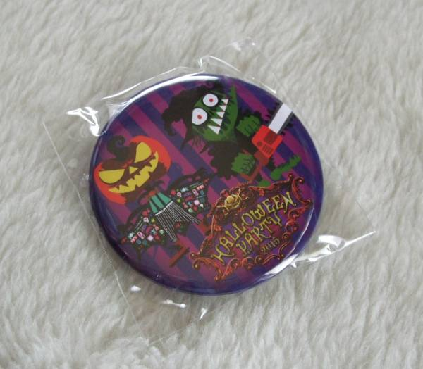 VAMPS主催 † HALLOWEEN PARTY 201 ガチャガチャ景品 『 缶バッジ C 』 未開封品