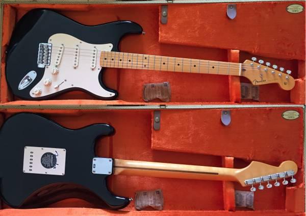 【中古】Fender USA [American Vintage '57 Stratocaster Thin Lacquer](BK/M)