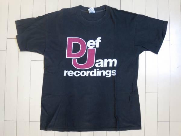 ビンテージ DEF JAM RECORDINGS Tシャツ HIP HOP RAP TEES 90's BEASTIE BOYS RUN DMC PUBLIC ENEMY