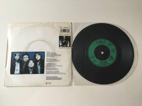 """レア シングル All About Eve / Every Angel / Wild Flowers 7""""シングル 1988年 The Mission The Sisters of Mercy"""