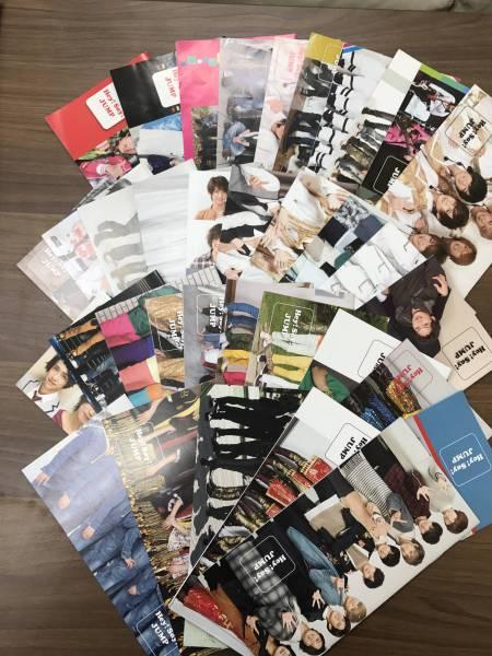 即決 送料無料 公式FC会報全号 Hey!Say!JUMP ファンクラブ会報Vol.0~35フル全35冊 コンサートグッズの画像