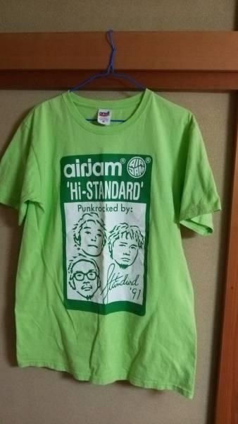 ハイスタンダード Hi-STANDARD AIRJAM2011 Tシャツ ライブグッズの画像