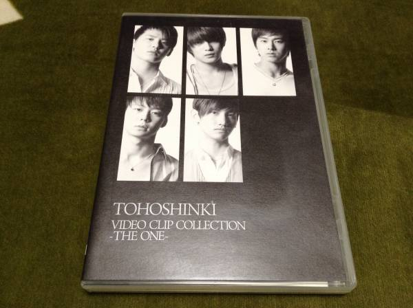 ◆東方神起 TOHOSHINKI VIDEO CLIP COLLECTION THE ONE DVD 国内正規品 即決