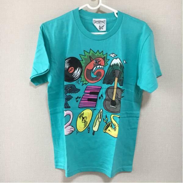 【未使用】OGA NAMAHAGE ROCK FES 2015 Tシャツ MONOEYES ナマハゲロックフェス