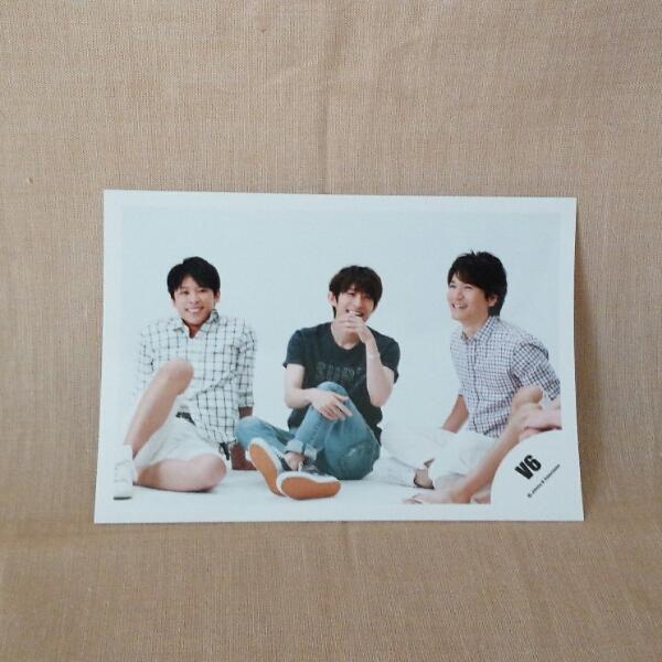 三宅健 坂本昌行 長野博 公式写真 V6写真◆04