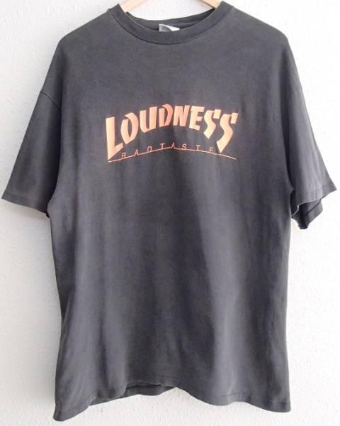 95年 LOUDNESS ラウドネス BADTASTE CLUB GIG Tシャツ L