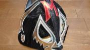 ミルマスカラス 黒ラメ トレード 試合用マスク