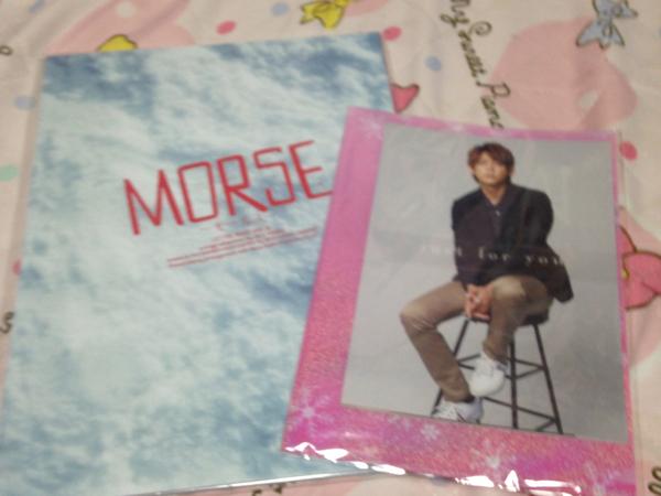ジャニーズWEST 小瀧望 MORSE モールス パンフレット、ポストカード