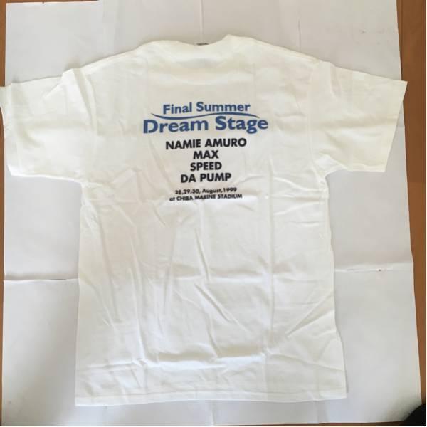 Final Summer Dream Stage Tシャツ サイズL 安室奈美恵 MAX SPEED DA PUMP 新品
