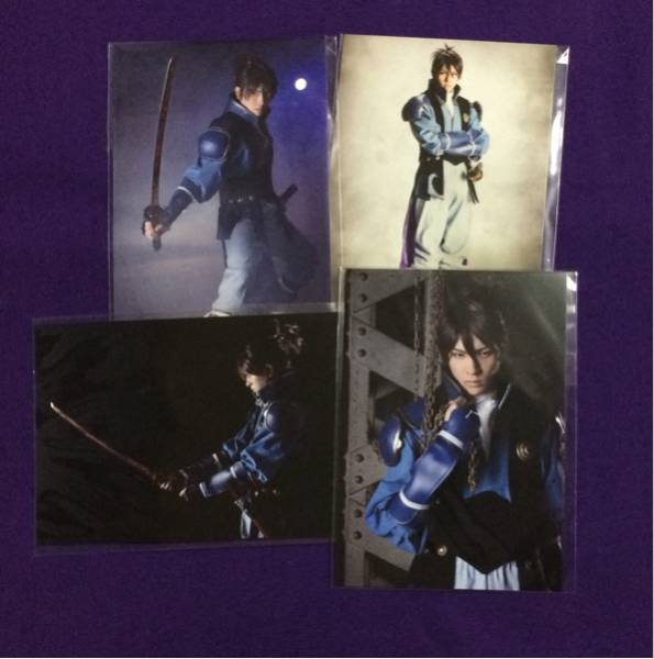 舞台『甲鉄城のカバネリ』来栖 財木琢磨 ランダム キャラクタービジュアルカード 4種 ブロマイド