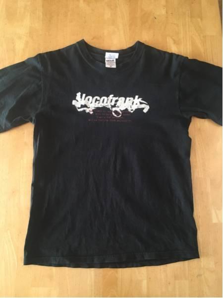 【locofrank the first chapter tour Tシャツ 黒 Mサイズ】ロコフランク,OVER ARM THROW,dustbox,Hi-standard,BRAHMAN,メロコア