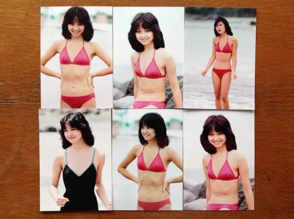 レア☆石川ひとみ写真Lサイズ19枚セット