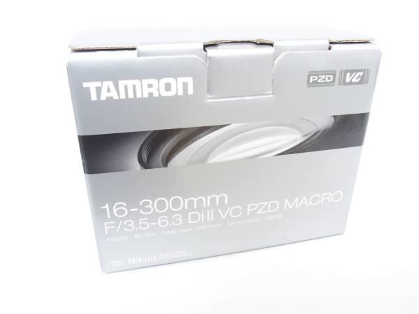 Tamron タムロン AF 16-300mm F3.5-6.3 Di Ⅱ VC PZD MACRO 元箱付属 ニコンマウント