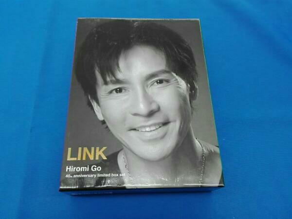 """郷ひろみ 40th anniversary limited box set""""LINK(DVD付) ライブグッズの画像"""