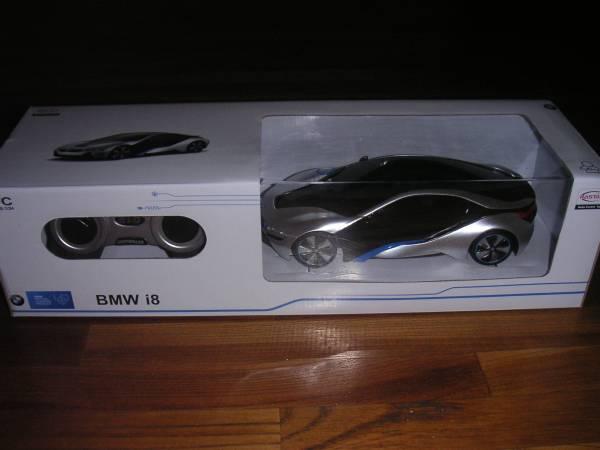 ラスターラジコン 、BMW i8 1/24スケール_画像2