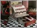 【当事物】 *ビンテージ品* オリジナル コカ・コーラ トイレジスター 世田谷ベース ガレージ 50's ダイナー レジ 送料一律620円