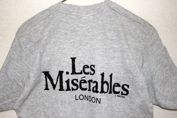 ロンドン ミュージカル レ・ミゼラブル Tシャツ Mサイズ