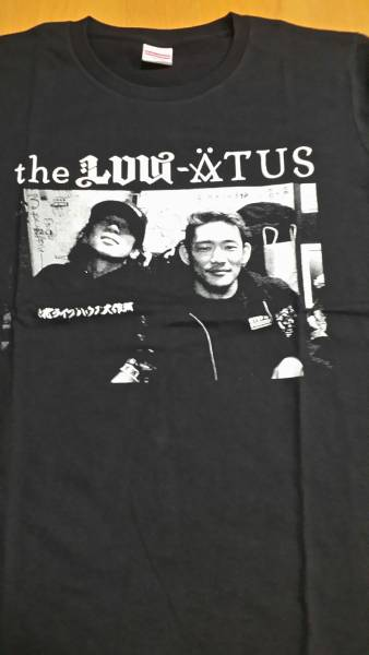 the low-atus TシャツLサイズ 細美武士 BRAHMAN HIATUS MONOEYES 東北ライブハウス大作戦 風とロック ライブグッズの画像