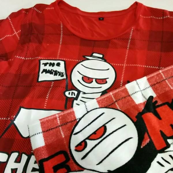 The Mirraz ミイラズ◆ツアー Tシャツ◆Mサイズ The Mirraz ミイラズ マフラータオルセット1078