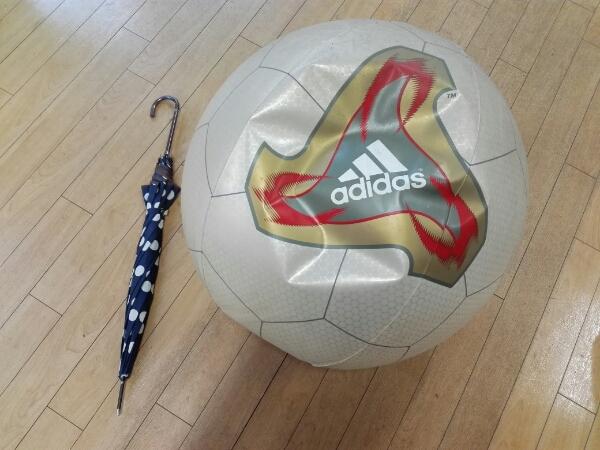 貴重非売/アディダス2002日韓サッカーW杯試合球デイスプレイ風船