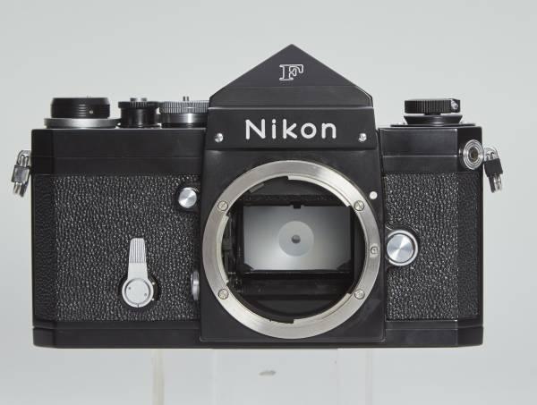 NIKON F アイレベル ブラック 50mmF1.4 純正フード ケース付き 中古美品_画像3
