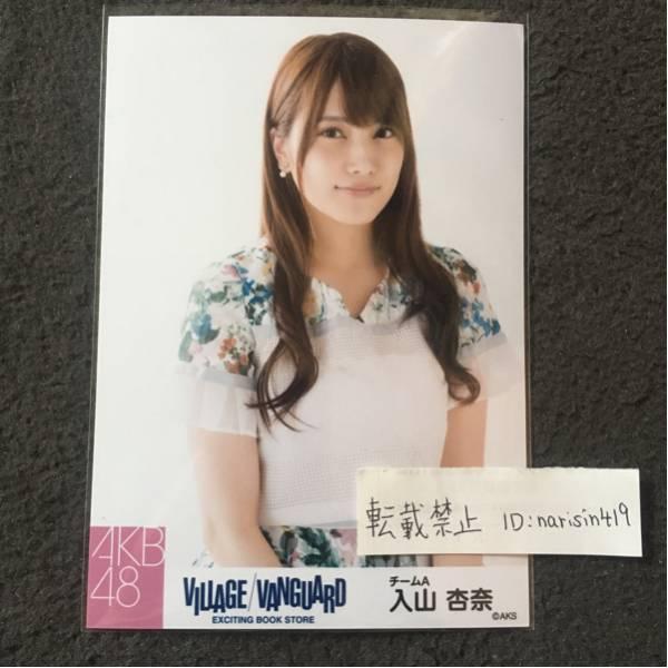 AKB48 入山杏奈 ヴィレッジヴァンガード 生写真 コンプ ヴィレヴァン