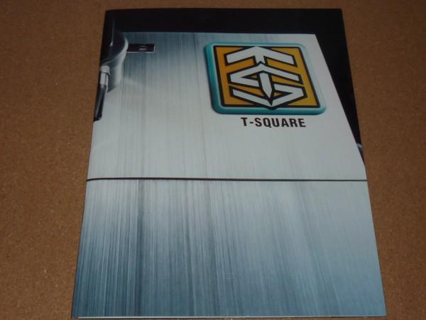T-SQUARE GRAVITY1998 20th ツアーパンフレット