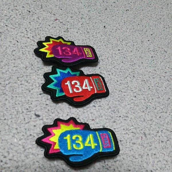 湘南乃風134バッチ3個 ライブグッズの画像