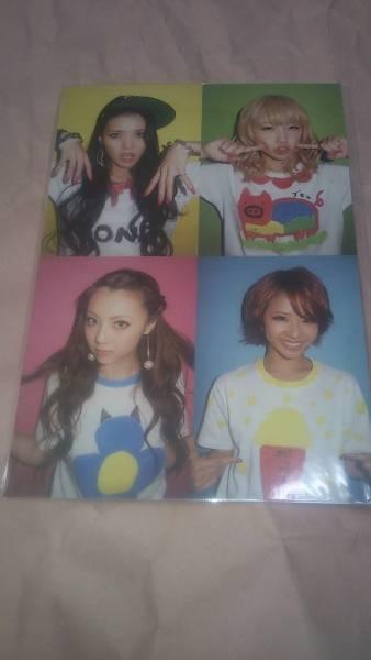 E-Girls Dream Only You ポストカード グッズ メンバー集合ver.未開封 Shizuka Ami Aya Erie