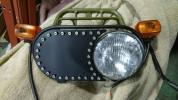 ズーマー zoomer ヘッドライト片目プレート カスタム、ドレスアップに YSK
