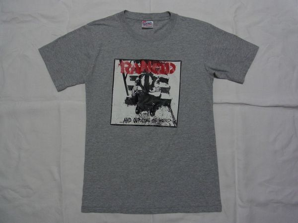 ☆90s USA製 ビンテージ RANCID ランシド 「...And Out Come The Wolves」 Tシャツ☆古着 80s スカ パンク ロック OPERATION IVY NOFX