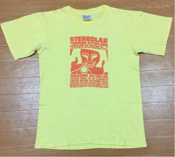 90s STEREOLAB ステレオラブ ビンテージ Tシャツ M / radiohead sonic youth nirvana the flaming lips boredoms