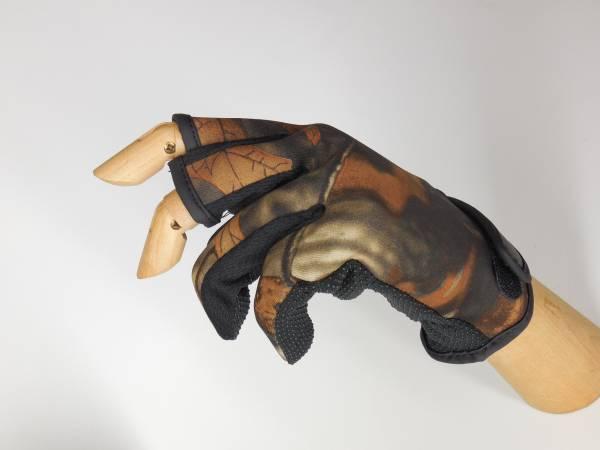 新品 ネオプレーングローブ 手袋★3本切 3本指出し カモフラ 送料無料 カモフラージュ ネオプレングローブ 保温性高く温かい