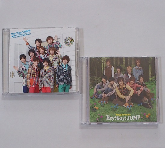 Hey!Say!JUMP CD+DVD Come On A My House 初回限定盤1 & Magic Power 初回限定盤2
