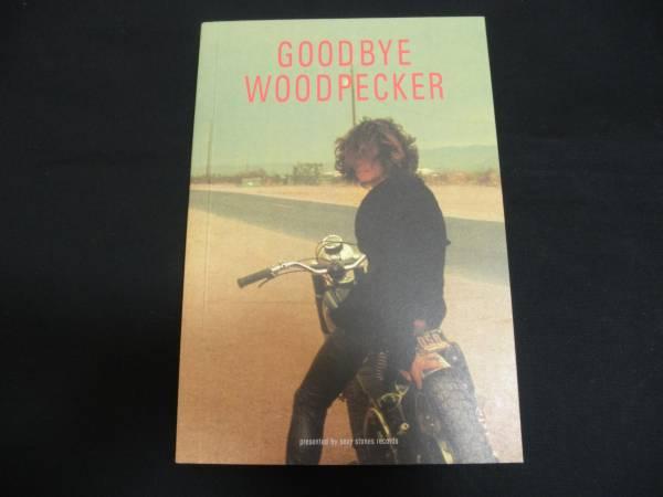 浅井健一 写真集 『GOODBYE WOODPECKER』 限定3000部 (ブランキーBLANKEY JET CITY)