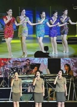 北朝鮮人民軍モランボン楽団軍歌集MTV非売品DVD  リージョンフリーDVD用もしくはパソコン用_画像1
