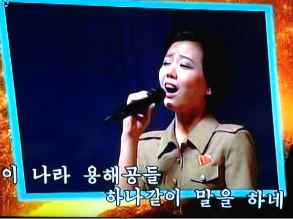 北朝鮮人民軍モランボン楽団軍歌集MTV非売品DVD  リージョンフリーDVD用もしくはパソコン用_画像2