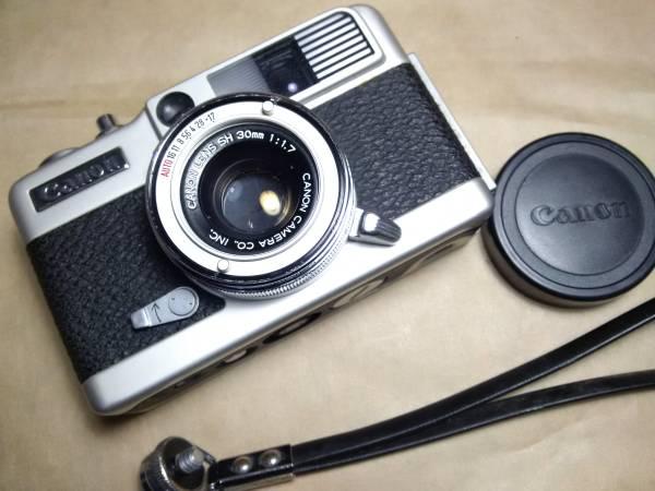 Canon demi ee17 / キャノン デミ ハーフ大口径 お散歩カメラ トイカメラ