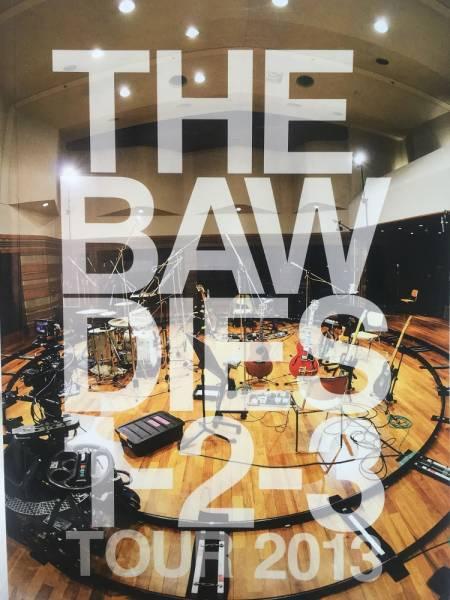 THE BAWDIES★1-2-3 TOUR 2013 ツアーパンフレット★送料¥164